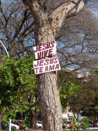 Le peuple brésilien est profondément croyant. Même les 10% de la population qui se disent sans religion, ne sont pas sans foi !