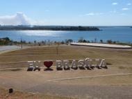 ...depuis le parc Don Bosco, qui reçut en songe la vision de la ville de Brasilia, bien avant sa fondation. Il en est le Saint patron aujourd'hu