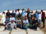 26 missionnaires de 18 pays différents (moi je prends la photo...)